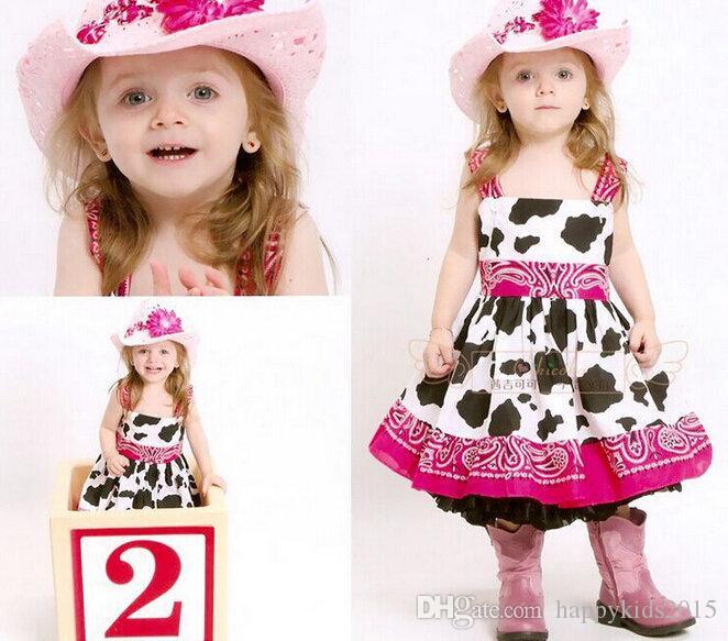 Cow Pattern Cow Pattern Tutu Dress