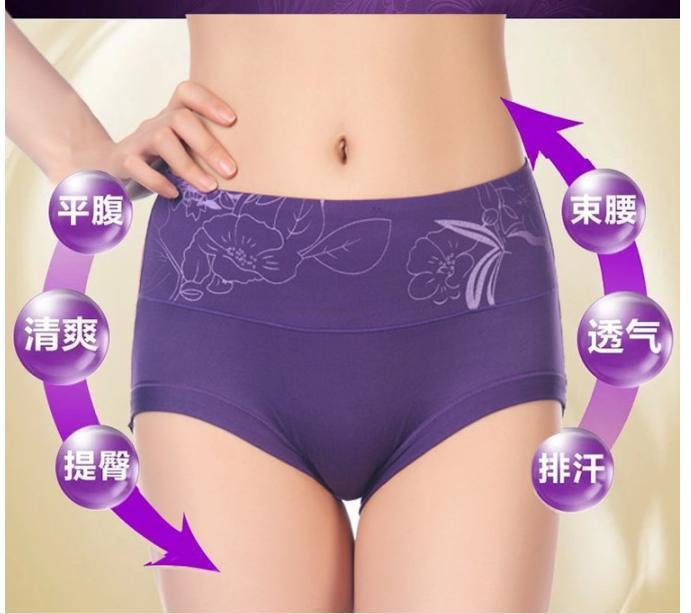 Online Cheap Hot Sale Women Sexy Panties Print Milk Silk ...