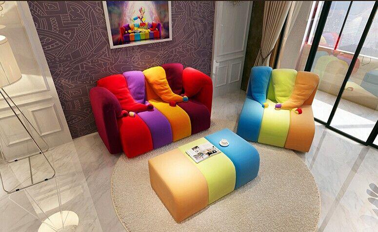 Moda casual cor colorido Natal simples e moderna sala de estar ...