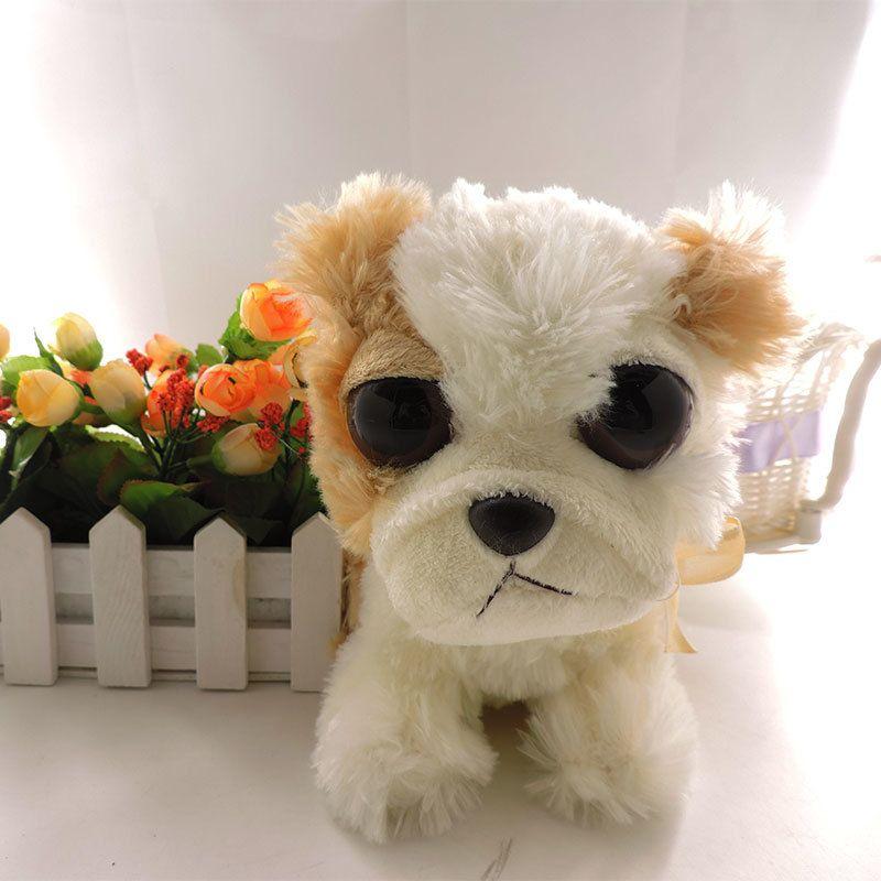 Online Cheap 19cm Cute Big Eyes Dogs Stuffed Animals Plush ...