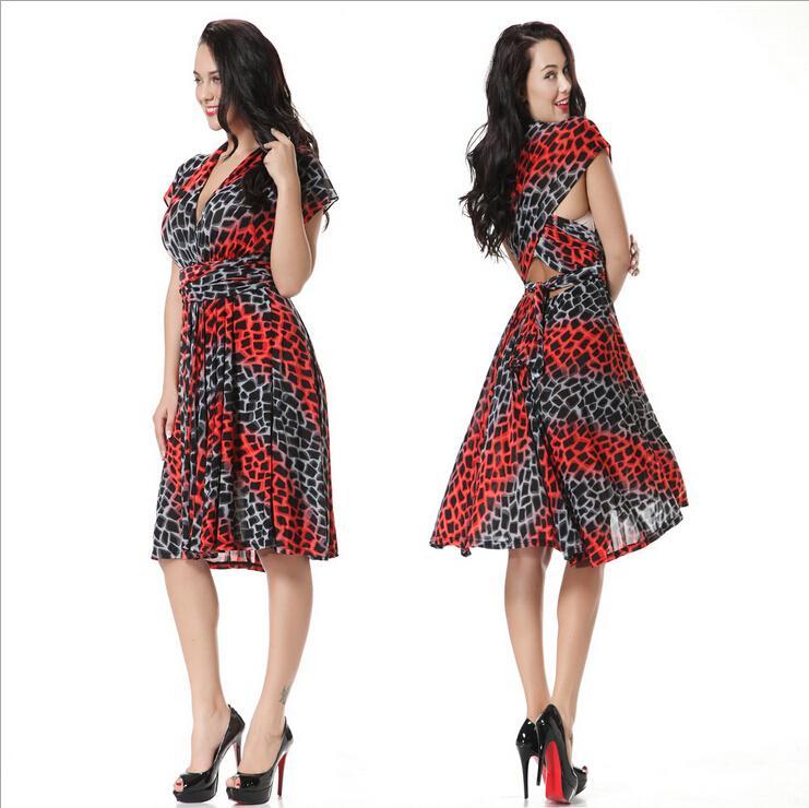 2016 Summer Bohemian Casual Dresses For Womens Fashion Print ...
