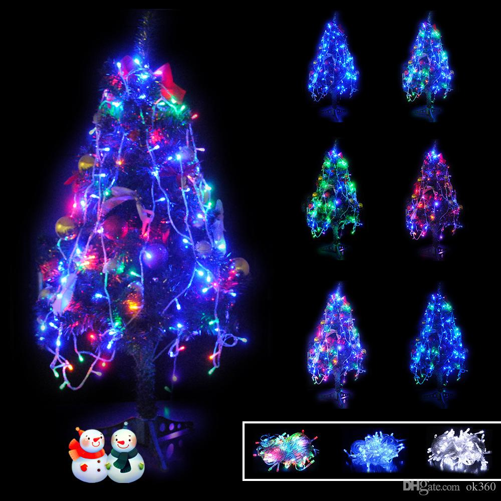Hot 10m 100 Led String 100 Leds Led String Lights 110v 220v Christmas Holiday Lighting For ...