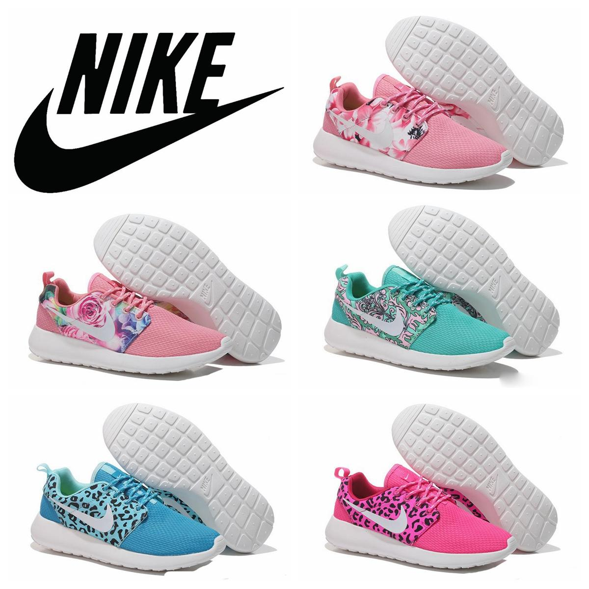 Nike Rosherun Roshe Run Floral Flower Women Running Shoes Nike Rosherun Londo