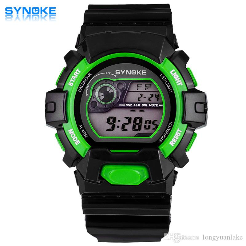 synoke cool digital watches for men dual display pointer time synoke cool digital watches for men dual display pointer time student table fashionable mens sports watch