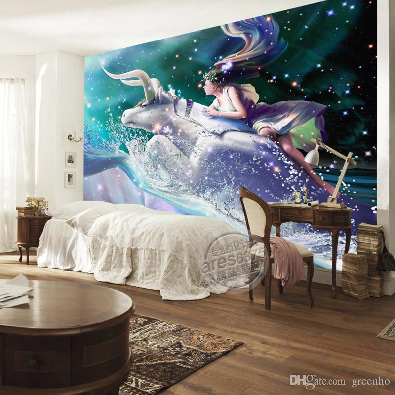Charming galaxy wallpaper taurus photo wallpaper custom 3d for 3d wallpapers for home interiors