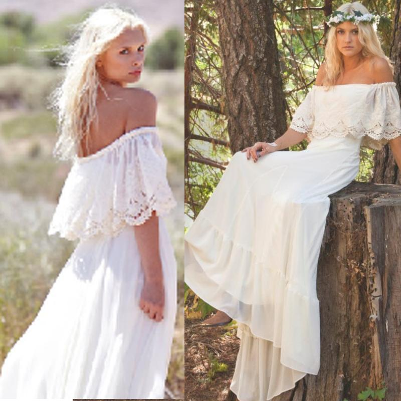 discount hot sale country wedding dresses bohemian boho