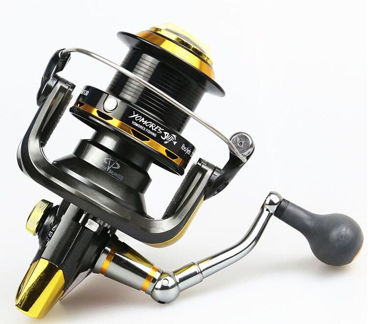 new spinning fishing reel 12bb+1 bearing balls 9000, Fishing Reels