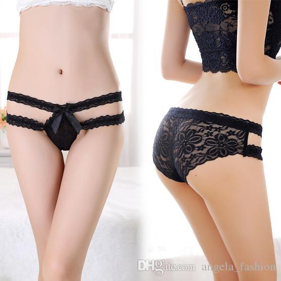 Good Quality Fashion Hot Sexy Lace Panties Black&Purplewomen ...