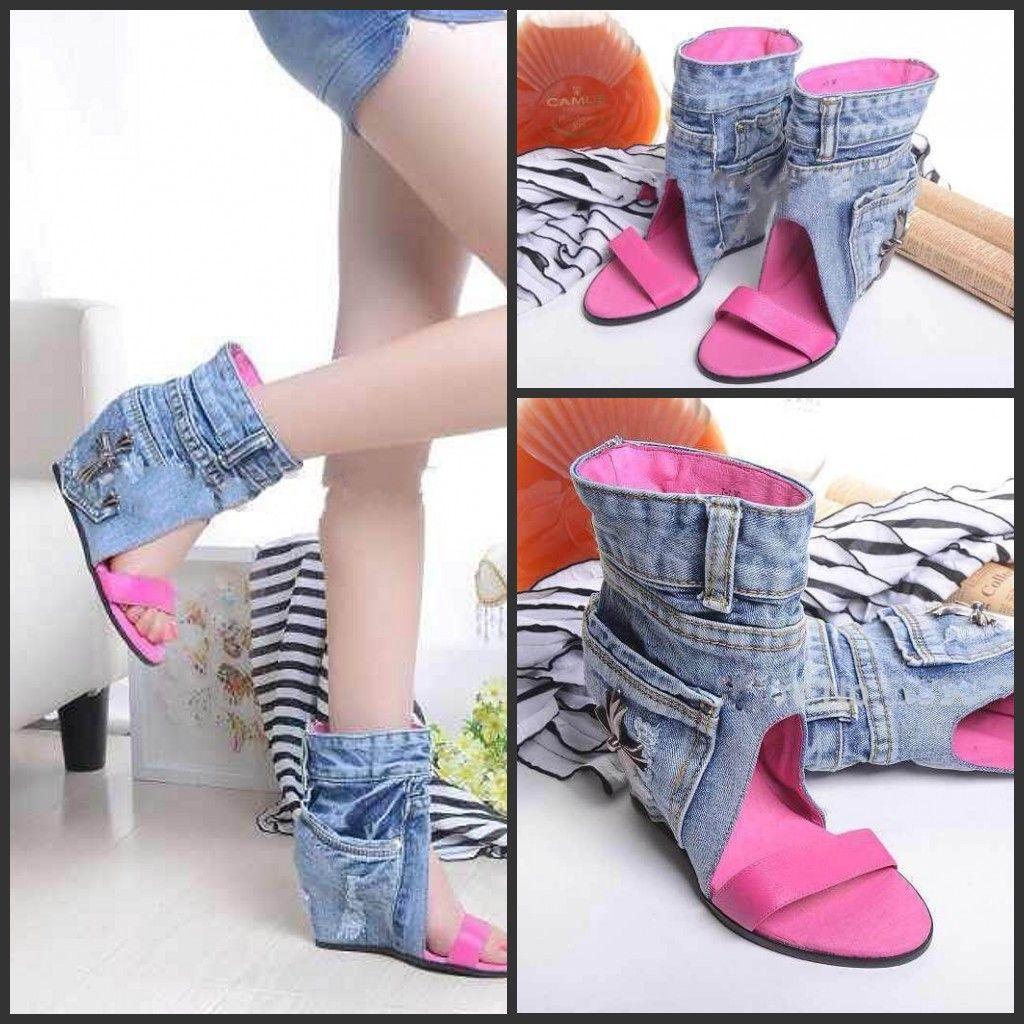 Womens sandals wedges - 2016 Cowboy Booties Sexy Women Sandals Boots Ankle Boots Jeans Wedges Sandals Designer Heels Shoes Woman Women Flats Women Boots 2016 New Cowboy Boots Shoes