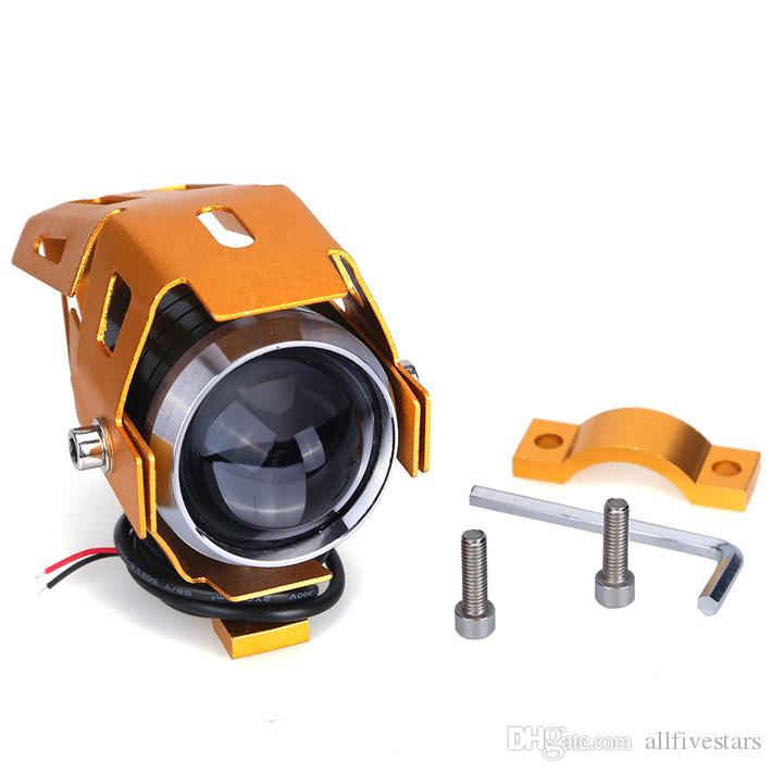 Cool Motorcycle CREE-LED Headlight U5 Transformer 125W 3000LM ...