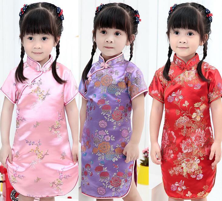 chinese girl kid in traditional dress wwwpixsharkcom