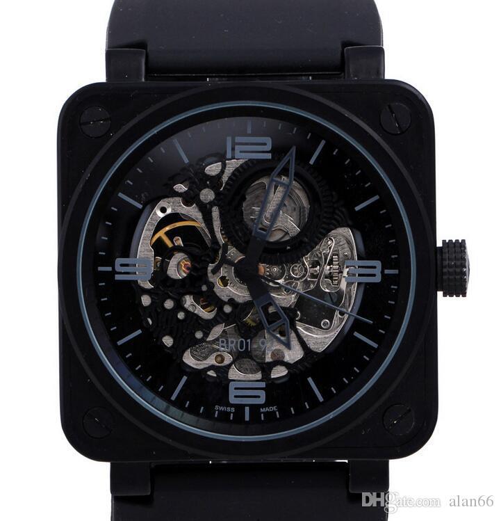 precio de marcas de relojes suizoslujo de marca suiza negro de acero inoxidable pvd