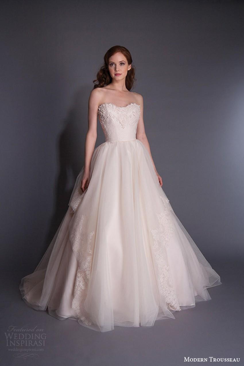 Cheap Strapless Wedding Dresses