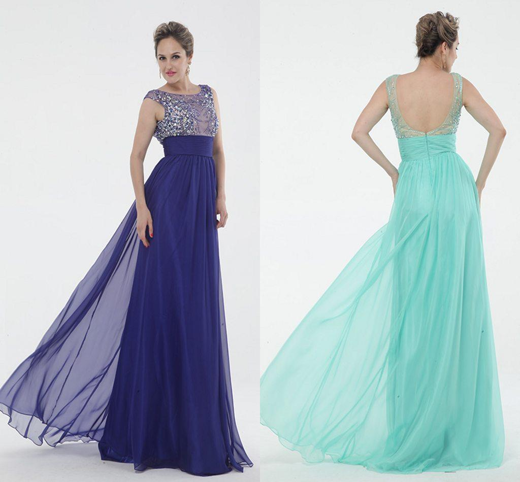 Many Color Prom Dresses Empire Waist Pregnant Top France Chiffon ...