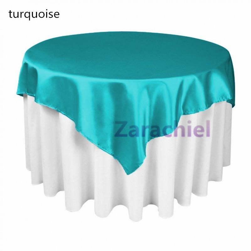 multicolors table cloth overlay 215cmx215cm 85x85 squaretop table decorations for wedding party banquet supply table overlay table overlay for wedding