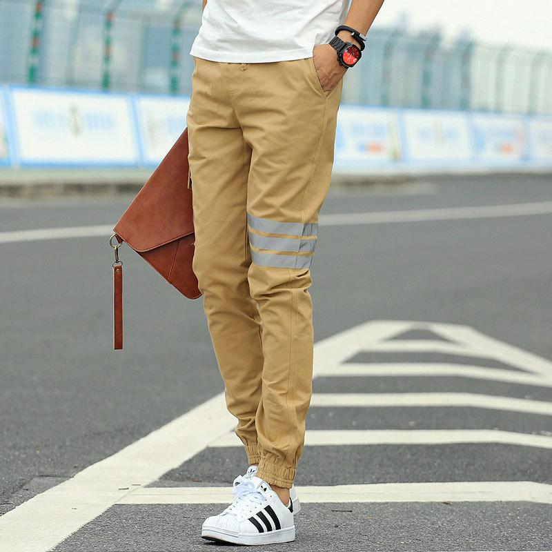 Online Cheap 1601 Khaki Joggers New Arrival: Fashion Casual Slim ...