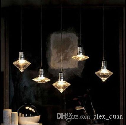 LED de 3W moderno luces colgantes de cristal creativo Crystal ...