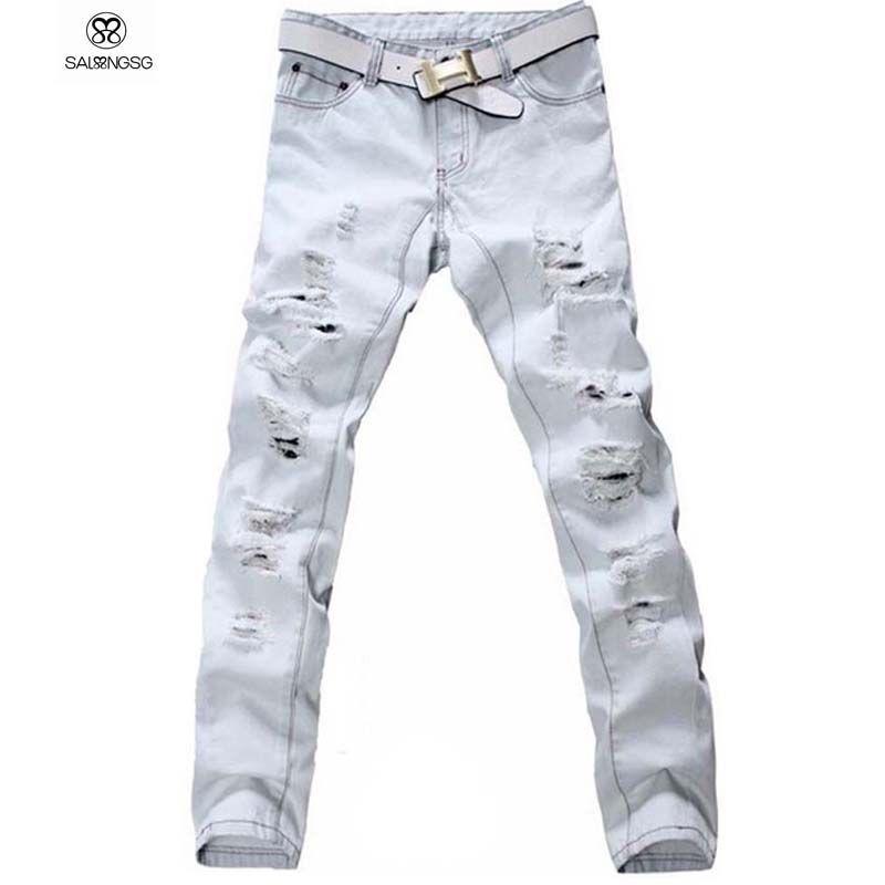 Pantalones Abercrombie De Hombre Rasgados