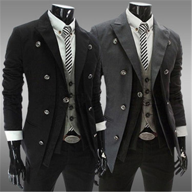 Hot Fashion Mens Suits Spring New Arrival Mens Jackets British ...