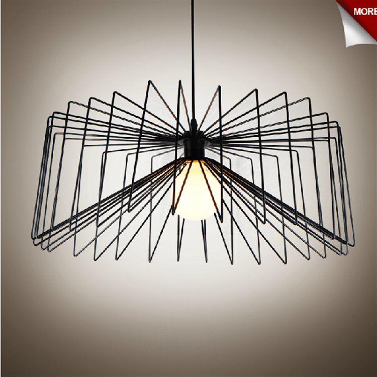 Nordic ikea creativo arte ragni moda lampadario comune lampadario ...