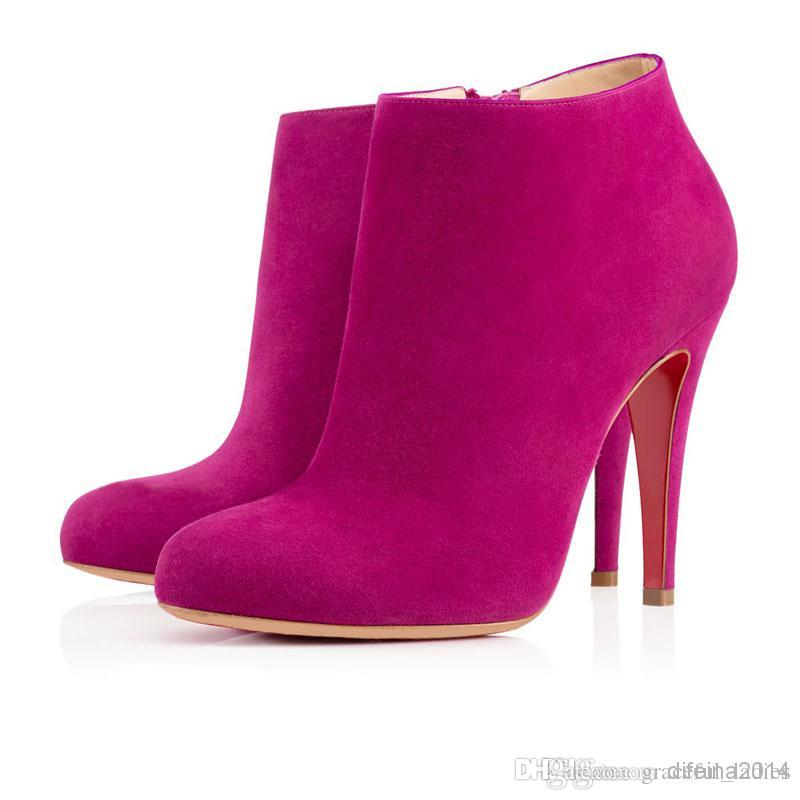 Hot Pink Ankle Boots Wholesale Hot Pink Ankle Boots