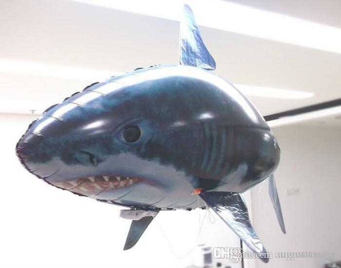 Best wholesale retail flying fish remote control toys air for Remote control flying fish
