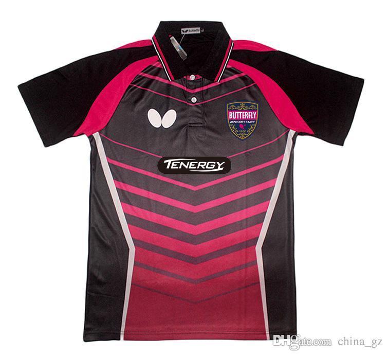 Online cheap 2016 new butterfly table tennis shirt men for Table tennis shirts butterfly