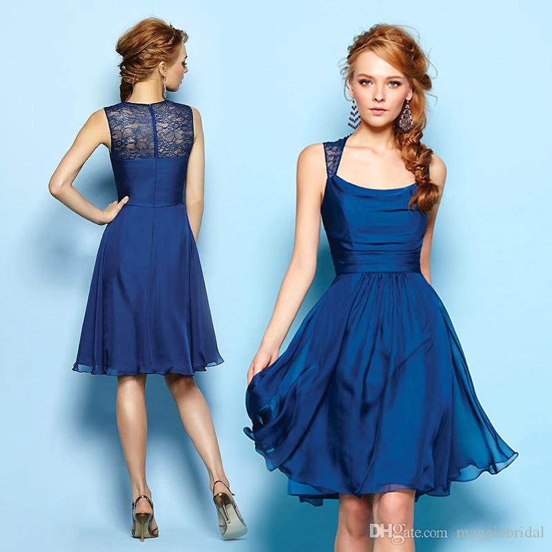 Images of Navy Blue Party Dress - Klarosa