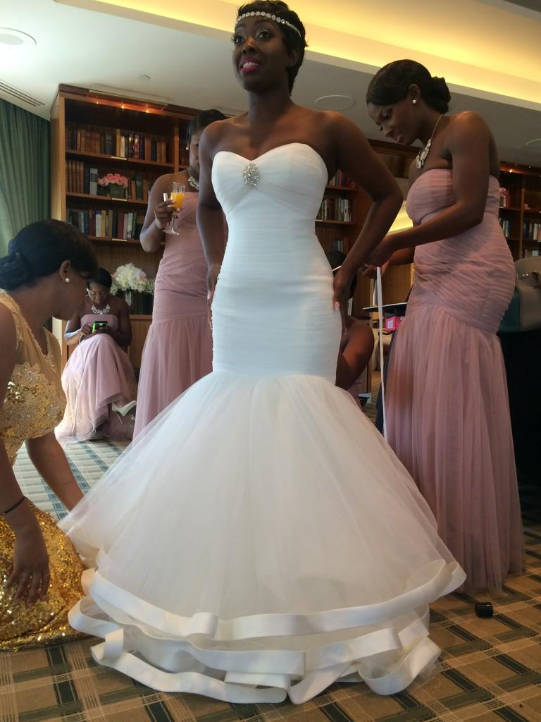 2016 strapless plus size mermaid african wedding dresses for Plus size african wedding dresses