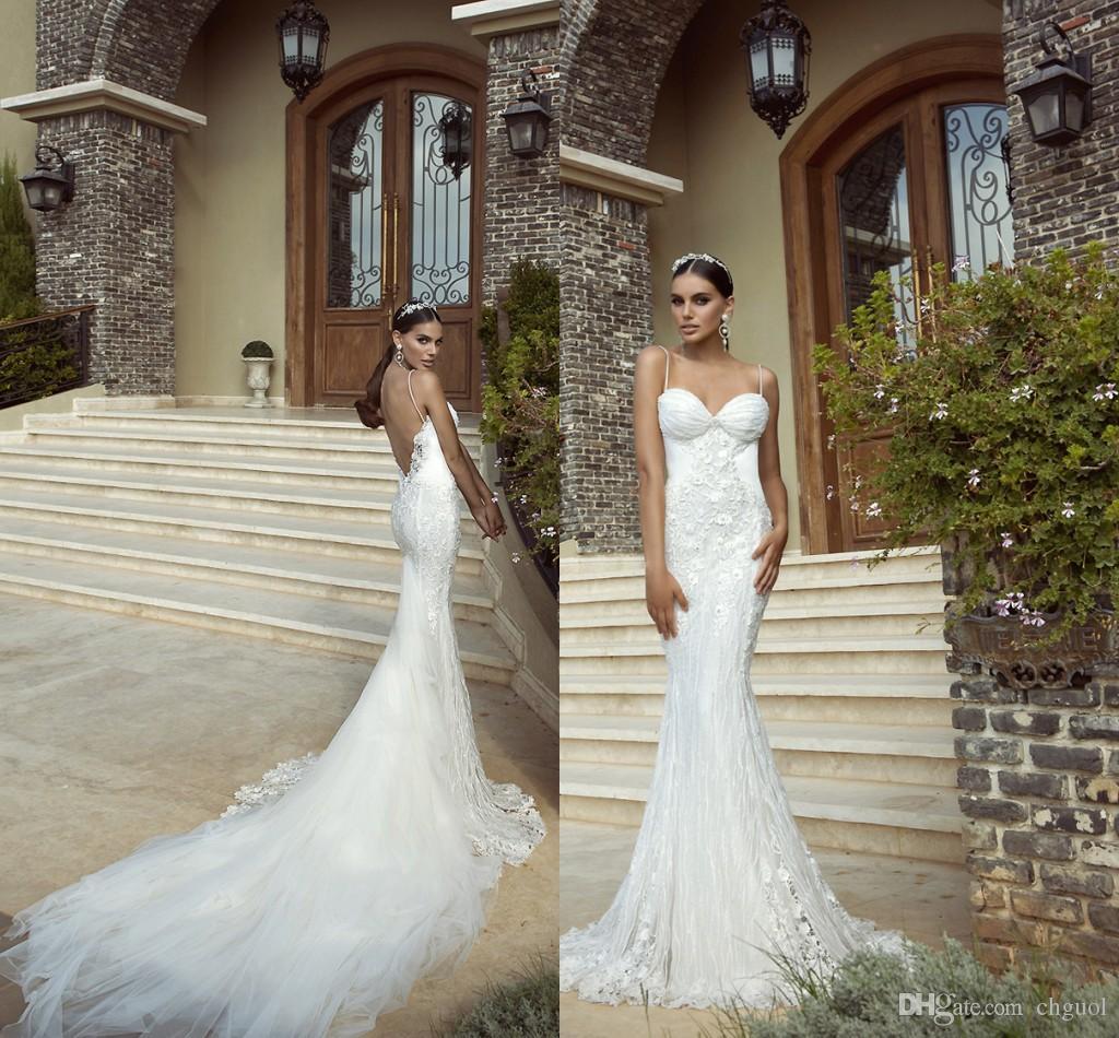 Galia Lahav Haute Couture Mermaid Wedding Dresses 2015 Chapel ...
