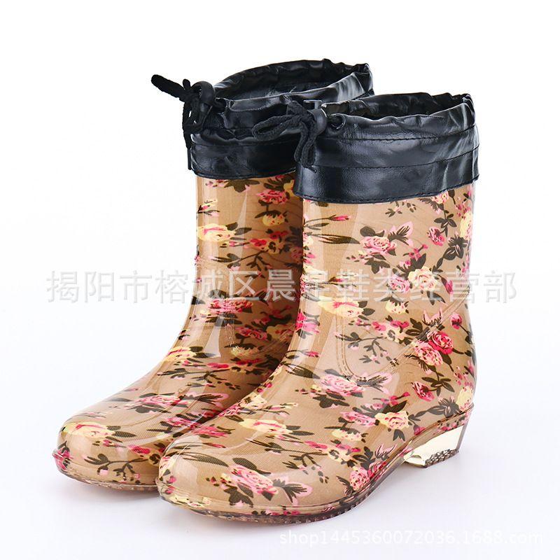 Women Ankle Boots Rain Boots Women Rain Boots Women Wom Boot Women ...