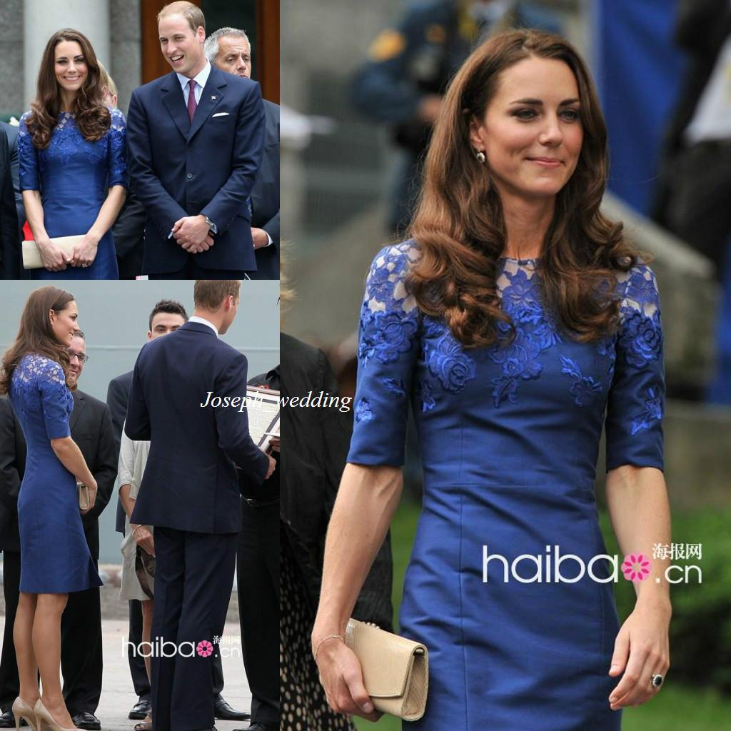 Kate middleton maternity dress high neck lace half sleeve sheath kate middleton maternity dress high neck lace half sleeve sheath tight short royal blue sexy elegant evening gowns cocktail dresses jcd018 kate middleton ombrellifo Gallery