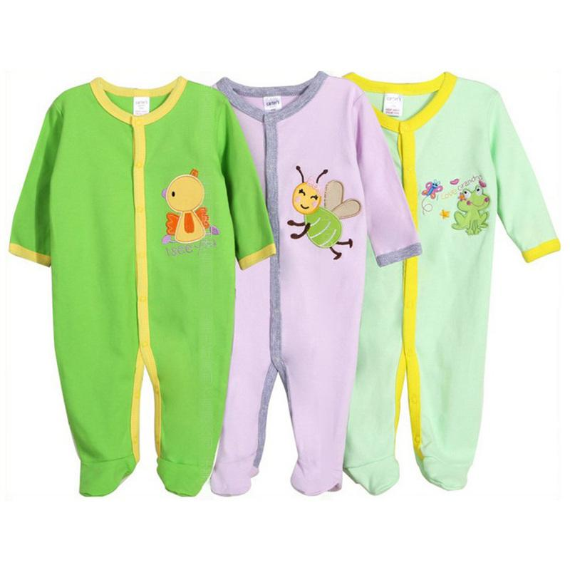 2017 Designer Baby Clothing e Piece Romper With Button