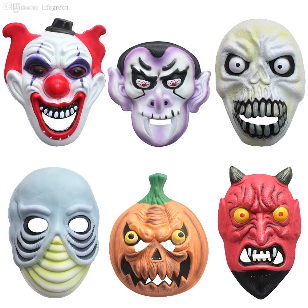 Wholesale Halloween Mask Halloween Dance Film Props Knife Scar ...