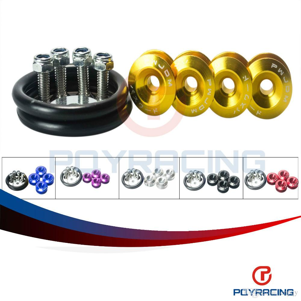PQY STORE- PDM Quick Release Fasteners are ideal for front bumpers, rear bumpers, and trunk / hatch lids