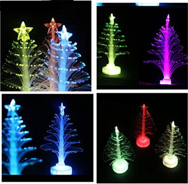 2015 Led Flashing Christmas Tree Star Night Light Party