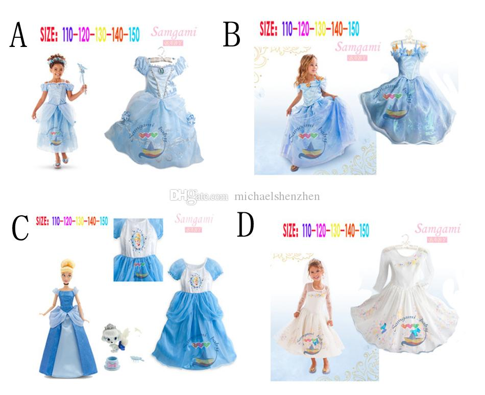 Cartoon Cinderella Dresses