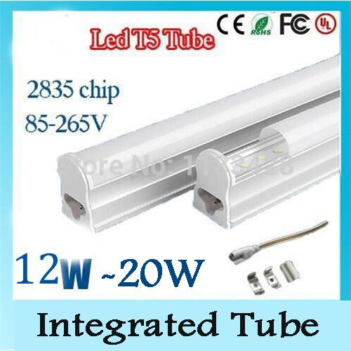 t5 led fluorescent tube replacement integrated tube ac 85265v smd 1200mm 4fts 12w led lamps for home energy saving led tube lights 4ft led tubes t5