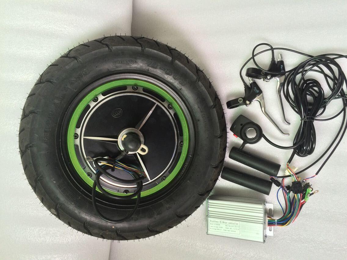 2017 48v 500w hub motor kit fat tire e bike kit 48v 500w for Scooter hub motor kit