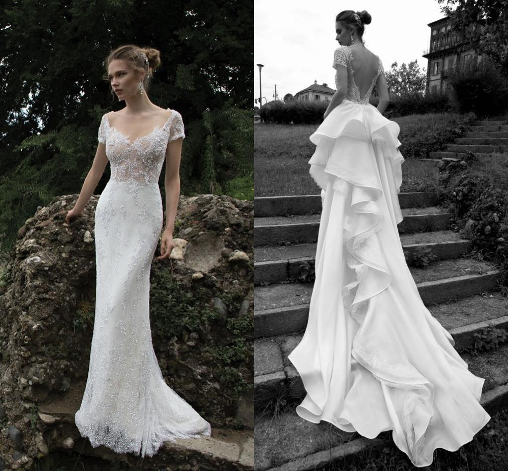 2016 sexy wedding dresses with detachable train alessandra for Dhgate wedding dresses 2016