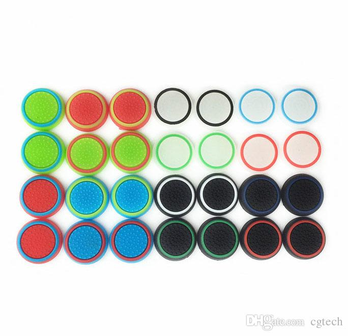 Rubber Silicone Joystick Cap Thumb Stick Joystick Grip Grips Caps For PS4 PS3 Xbox one 360 Controller High Quality and FAST SHIPPING