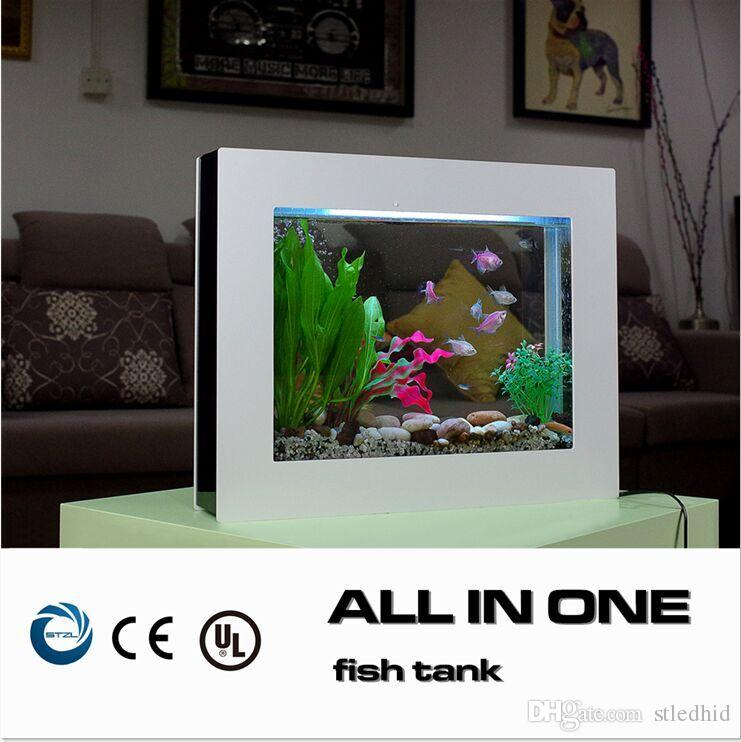 Eco all in one aquarium fish tank with auto oxygen maker for Eco fish tank