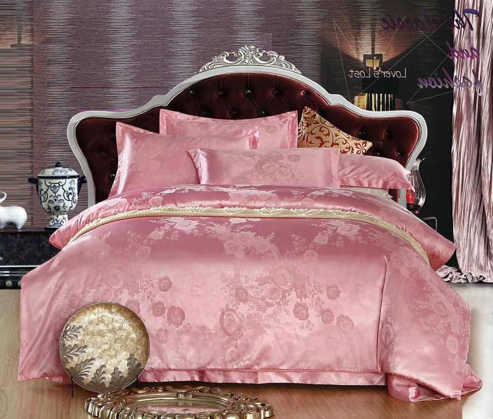 Bed sheets for wedding - Cotton Satin Jacquard Sexy Comforter Sets Bed Sheets Taste Of Luxury Silk Series Wedding Silk Bedding Set Sexy Comforter Sets