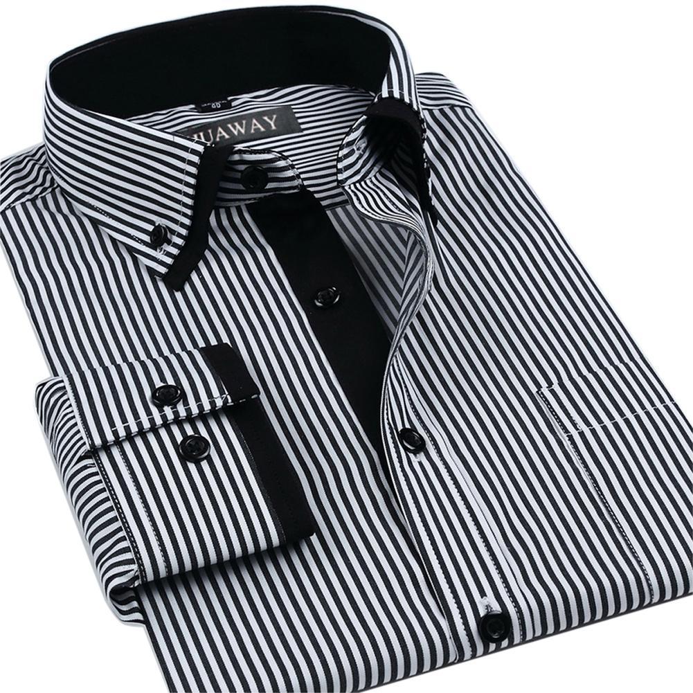 Long Sleeve Collar Shirts Mens