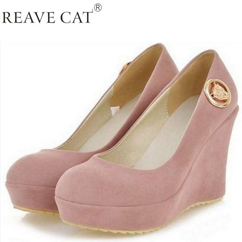 High Heel Wedge Shoes Women Sexy Dress Footwear Fashion Lady ...