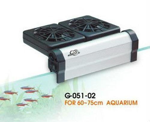 2017 aqua world cooling system aquarium powerful 2 cooling for Fish tank water cooler