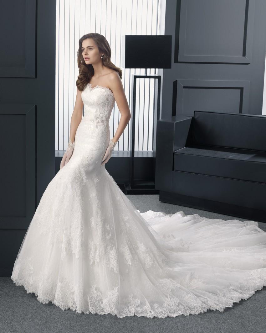 2015 christmas best mermaid wedding dresses sweetheart beads applique