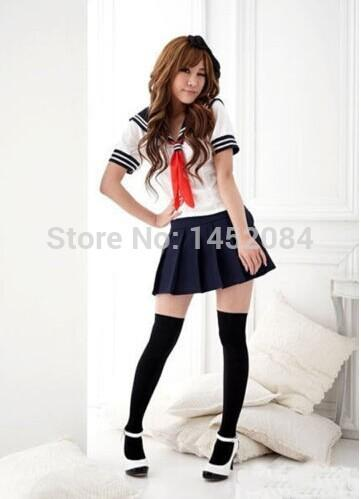 New Japanese High School Girl Sailor Uniform Cosplay Costume Dress Dress  Sailor Uniform Online with $49.19/Set on Emell2014\u0027s Store