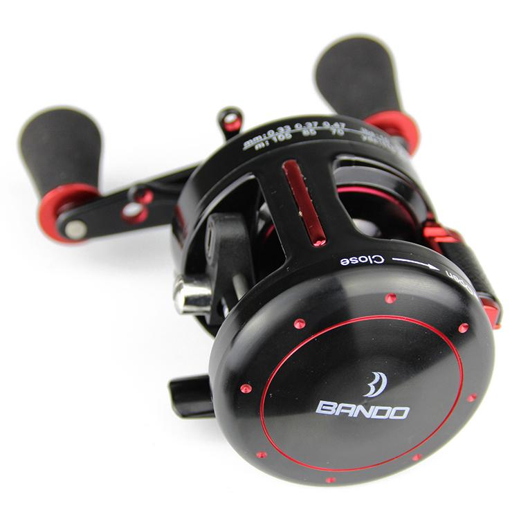 Cheap high quality baitcasting fishing reel saltwater top for Fishing reels baitcaster