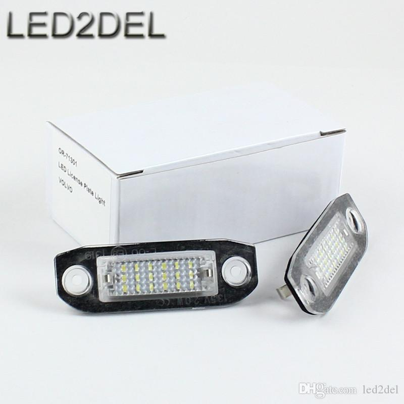 white led license plate lights 18 smd number white led license plate lights 18 smd number plate lamps for volvo Audi A4 B7 License Plate Light Wiring at bakdesigns.co